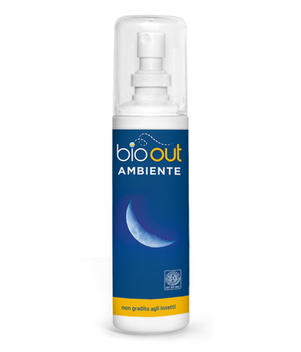 Repellente Insetti Spray per Ambienti BIO-OUT