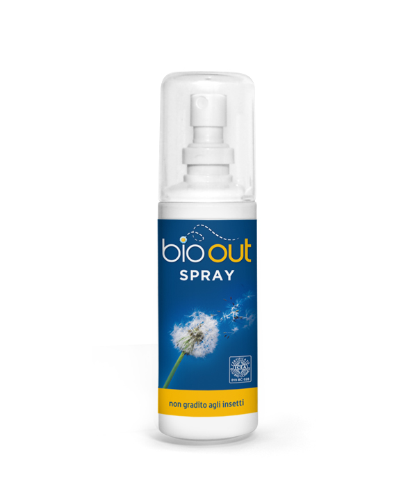 Repellente Insetti Spray BIO-OUT