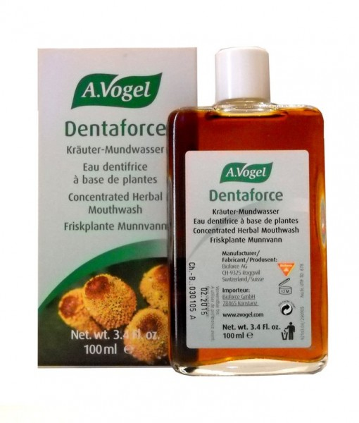 Collutorio Dentaforce alle Erbe 100% Naturale A. Vogel
