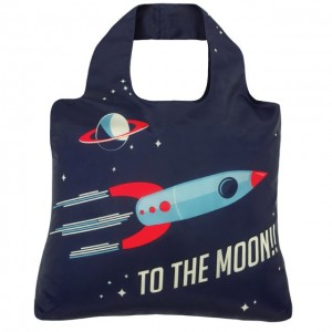 Shopping Bag TO THE MOON kids series Envirosax