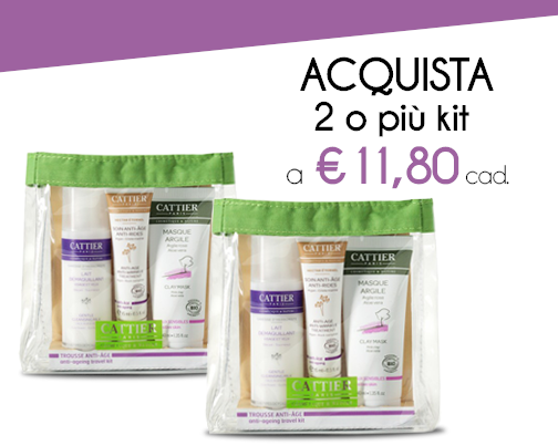 Kit Viso Antiage CATTIER Pelli mature
